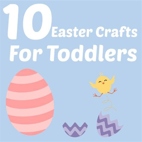 10 easy easter crafts for toddlers not another mummy 136 | easter crafts toddlers