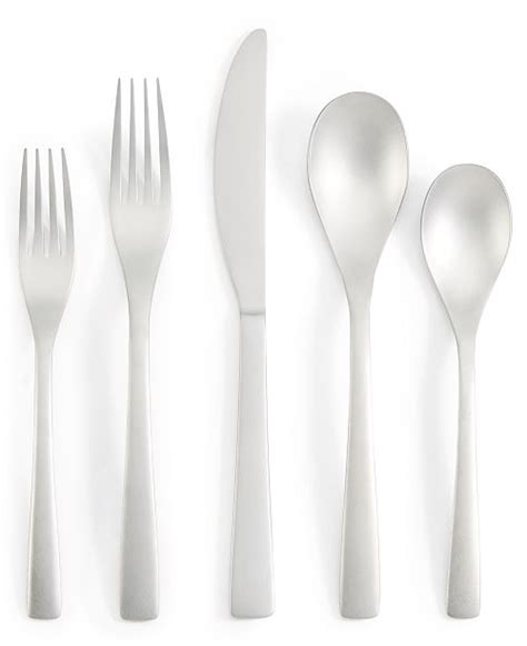 macy flatware sand created pc service hotel collection offer