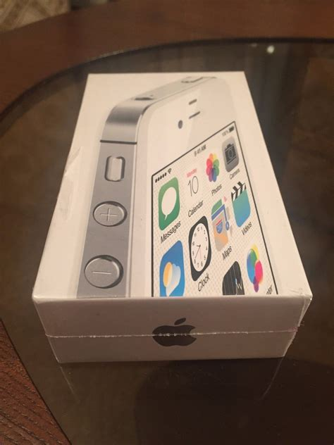 apple iphone  white  gb factory unlocked sealed box