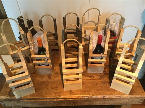 Rustic Pallet Wood Reusable Wine Gift Bags ? 1001 Pallets