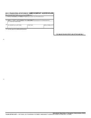 illinois ucc forms ucc bfinancingb statement amendment baddendumb able