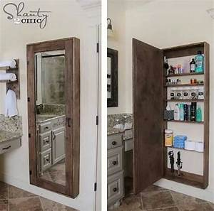 full length mirror medicine cabinet for the home With full length mirrored bathroom cabinet