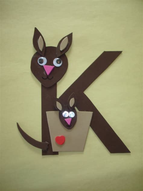 craft ideas for preschool letter k crafts preschool and kindergarten 621