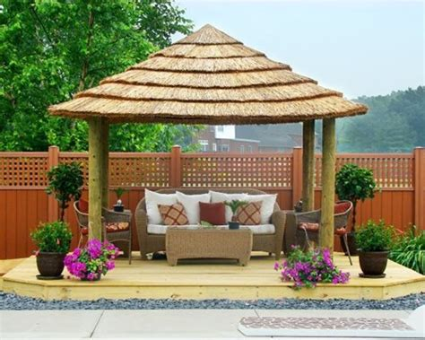 tropical thatch umbrella kits landscaping network