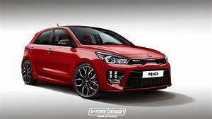Rio Autos : 2018 kia rio gt hot hatch could happen here 39 s the rendering autoevolution ~ Gottalentnigeria.com Avis de Voitures