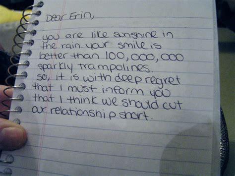 break up letter breakup letter 20678   Funny Breakup Letter