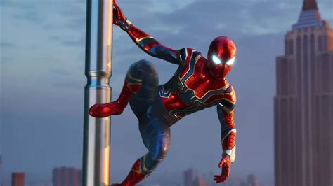 spider ps4 how to unlock iron spider costume attack of the fanboy