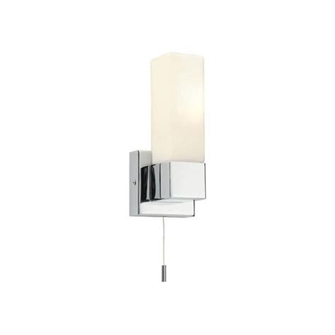 endon lighting square single light switched bathroom wall