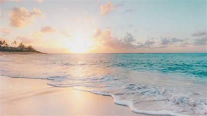 4k Beach Waves Environment Summer Wallpapers Ablaze
