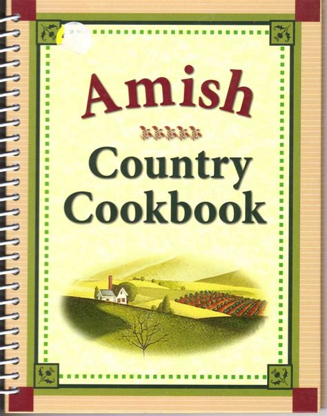 country kitchen cookbook amish country cookbook by louis weber ebay 2765