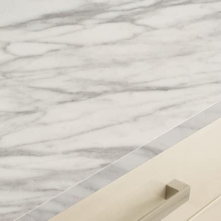 White Marble Effect worktop   Kitchen Worktops     Howdens