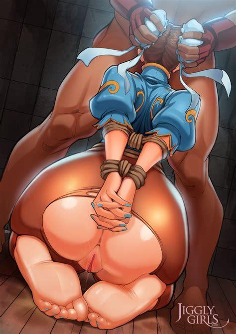 Power Girl Jiggly Girls Hentai