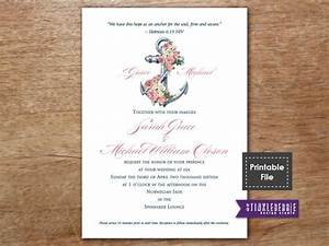 nautical wedding invitation printable wedding invitations With nautical wedding invitations online