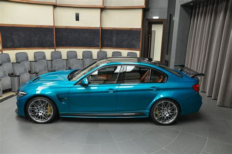 atlantis blue bmw m3 with light brown interior is the king of contrast carscoops