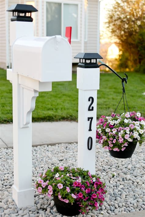 Curb Appeal Project Mailbox Makeover Tidbits