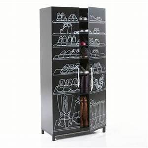 armoire chaussure redoute armoires chaussures comparer With meuble chaussure grande capacite 13 etagere chaussures 30 paires