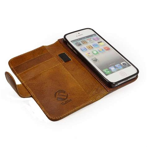 iphone 5 wallet for iphone 5 5s se tuff magic grip leather wallet
