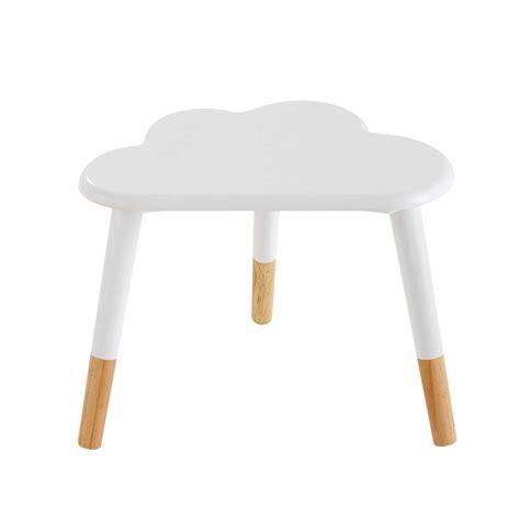 table de chevet enfant nuage blanche nuage maisons du monde