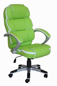 green desk chair Executive computer chairs, lime green office supplies lime ...