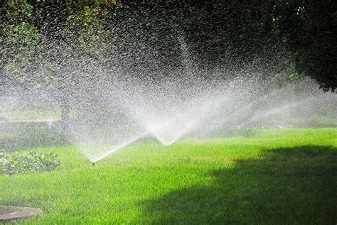 landscaping sprinklers irrigation sonoma valley landscape