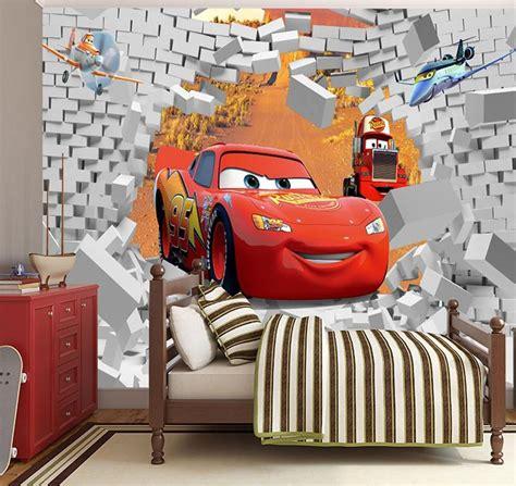 Cars Lightning Mcqueen Cartoon High Quality 3d Wallpaper