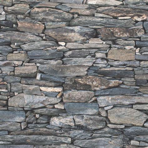 realistic brick effect wallpaper stone slate rustic