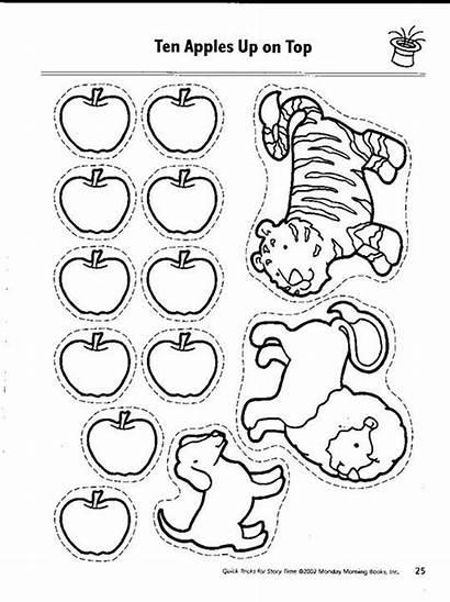 Apples Preschool Apple Books Ten Activities Worksheet