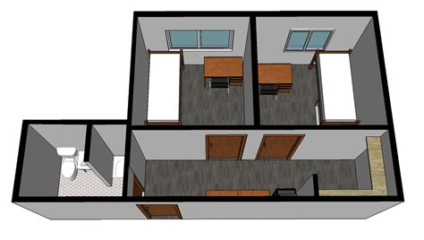 bath floor plans archer house residence halls housing