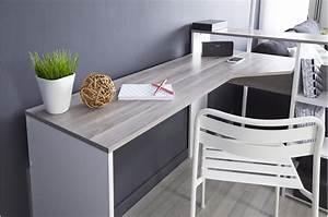 Meuble D Angle Chambre : meuble bureau d 39 angle ~ Teatrodelosmanantiales.com Idées de Décoration