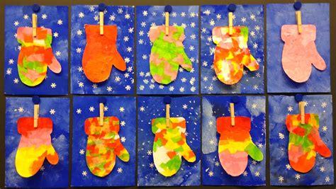 winter mitten art fun family crafts
