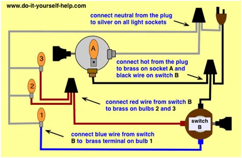 how to rewire a l with a rotary switch l switch wiring diagrams do it yourself help