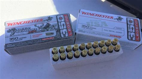Winchester Steals Cartridge Show With New 350 Legend