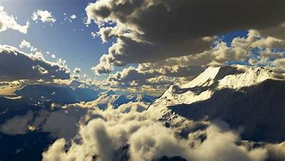 Clouds Skyscapes Wallpapers Mountain Backgrounds Wallpoper
