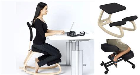 kneeling desk chair review kneeling chair spine correction kneeling recliner happy