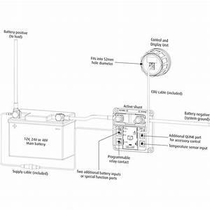 Battery Monitor - Expert Modular  12v-24v-48v
