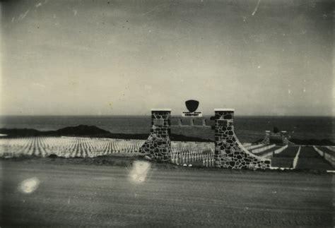 Marine Cemetary On Iwo Jima, 1945-46