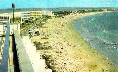 Litoralul romanesc. Cum arata plaja de la Mamaia in 1964: