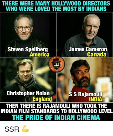 Nolan Meme - there were many hollywood directors who were loved the most by indians steven speilberg james