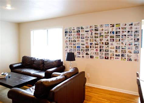 Ideas For Kitchen Wall - easy and cheap diy photo wall