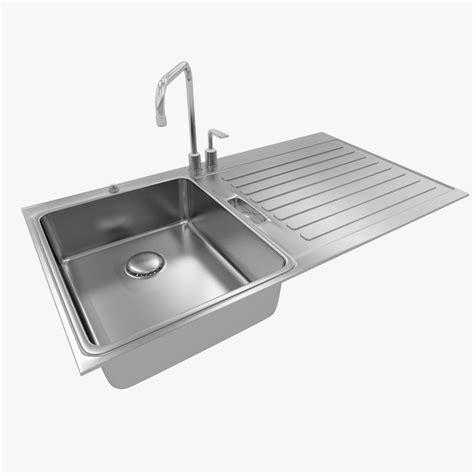 kitchen sink models kitchen sink 3d max 2791