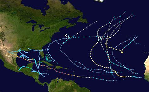 1980 Atlantic Hurricane Season Wikipedia
