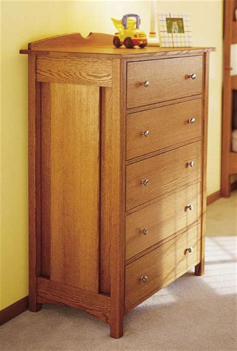 kids oak dresser woodworking plan  wood magazine