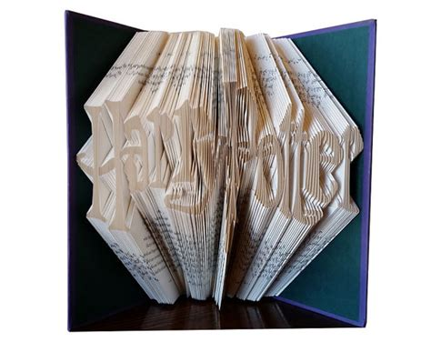 best gifts for harry potter fans harry potter folded book gift for harry potter by