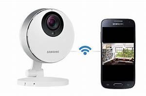 Video Surveillance Maison : cam ra ip samsung gardez un oeil sur votre maison avec ~ Premium-room.com Idées de Décoration