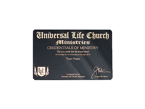 ulc wallet license credit card style