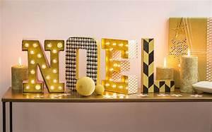 Lettre Lumineuse Deco : lettres lumineuses noel cultura ~ Teatrodelosmanantiales.com Idées de Décoration