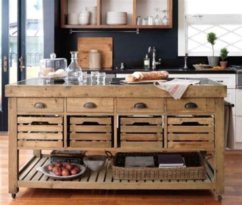 ilot de cuisine antique repurposed reclaimed nontraditional kitchen island elizabeth barnes