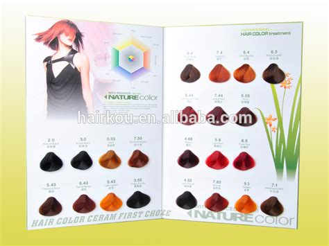 Hair Color Swatch Book Manufacturer