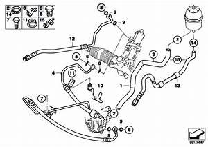 Original Parts For E60 525i M54 Sedan    Steering   Hydro