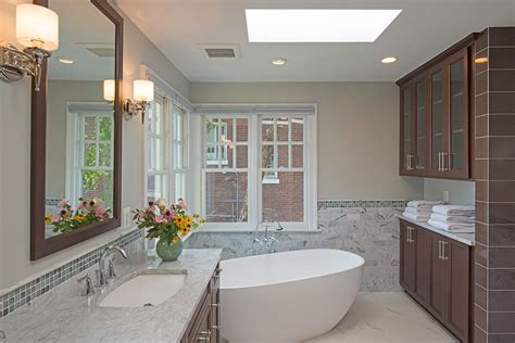 Spa Tub Bathroom by Master Bath With Generous Shower And Spa Like Soaking Tub